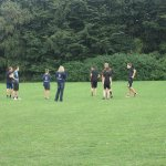 Fußballtraining, 17.08.2013