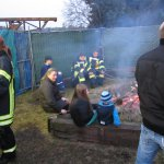 Osterfeuer, 19.04.2014