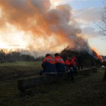 Osterfeuer, 04.04.2015